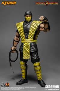 Storm Collectibles Mortal Kombat Klassic Vs. Series 1/12 Scale Action Figure - Scorpion