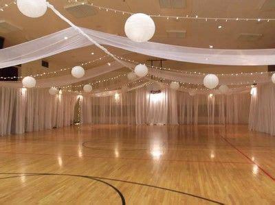 gym wedding reception ideas   pinterest