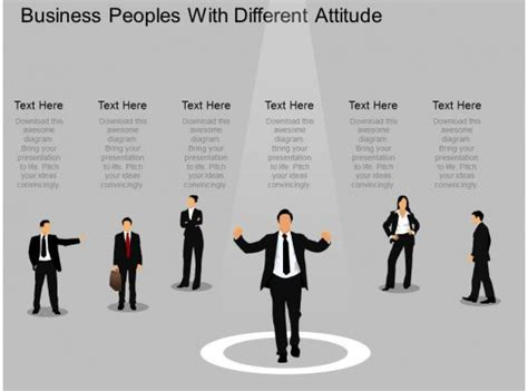 el business peoples   attitude powerpoint