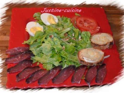 seche cuisine recettes de salade au magret de canard séché