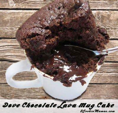 quick easy chocolate lava mug cakes recipe single