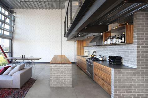 custom loft style condo  seattle  stylish industrial