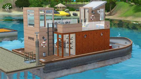 Hausboot Zum Wohnen by Hausboot Zum Wohnen Simension