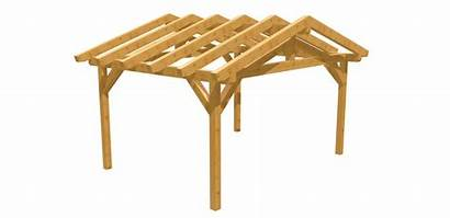 Carport Holz Selber Bauen Satteldach Machen 4m