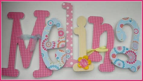 letters for nursery floral nursery decor wooden letters baby flower