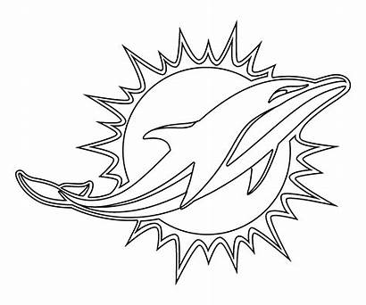 Dolphins Miami Dolphin Drawing Transparent Clip Coloring