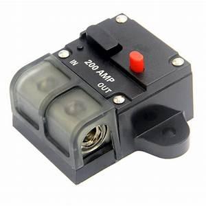 Iztoss 200 Amp Manual Resettable Circuit Breaker Switch