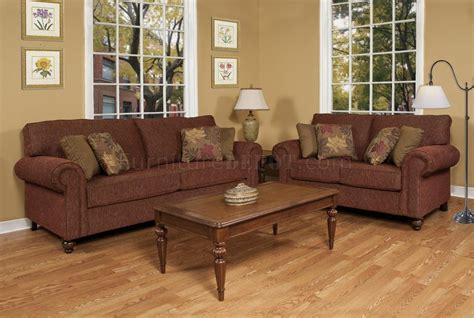 brown fabric sofa set brown fabric modern sofa loveseat set w options