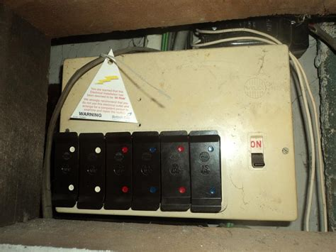 My Builder by Replace Rewireable Consumer Unit Add Rcd Earth Gaswater