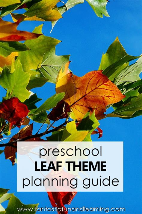 preschool fall leaf theme activities fantastic 322 | Theme Planning Guide Leaf