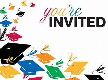 Graduation Clipart Invitation Invitations Backgrounds Banner Graphic