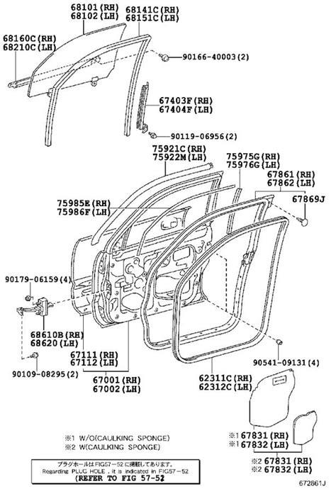 Toyota 4Runner Door Interior Trim Panel (Right, Front