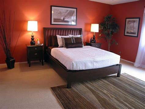 Bedroom Burnt Orange Wallpaper by The 25 Best Burnt Orange Bedroom Ideas On