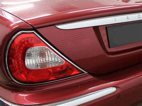 light rear l bezel cover chrome trim for jaguar xj x350 2003 2007 ebay