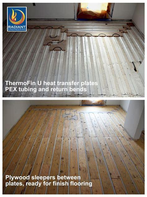 radiant floors hardwood top 25 best in floor heating ideas on heated