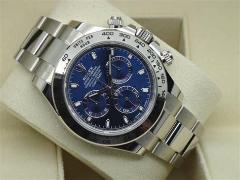 FSOT: Rolex Daytona 116509 White Gold Bracelet RARE BLUE ...