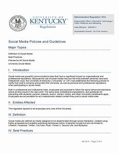 uk social media policies and guidelines free download With social media guidelines template