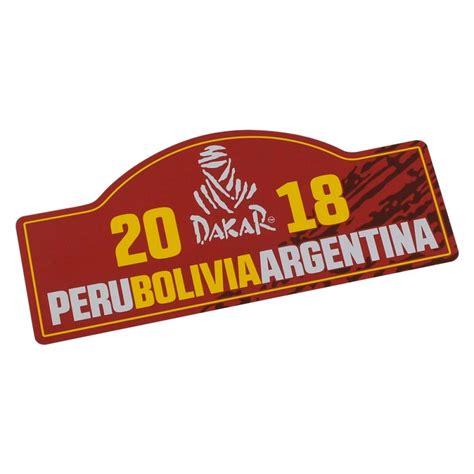 sticker grand format mural dakar rally sticker 2018 official product rally dakar