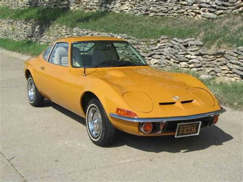 72 Opel Gt by 1972 Opel Gt For Sale Classiccars Cc 1015720