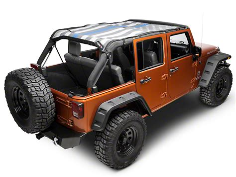 jeep mesh doors jtopsusa jeep wrangler safari mesh top thin blue line
