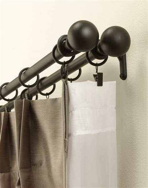 Cast Iron Drape Rod - painting cast iron curtain rods cento ventesimo decor