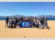 Keep Tahoe Blue Labor Day Cleanup at Nevada Beach Tahoe