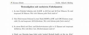 Terme Berechnen Klasse 5 : aufgaben textaufgaben mit mehreren unbekannten mit l sungen koonys schule 1336 ~ Themetempest.com Abrechnung