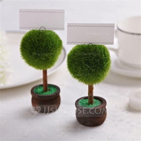 Topiary Place Card Holders (set Of 2) (051022905