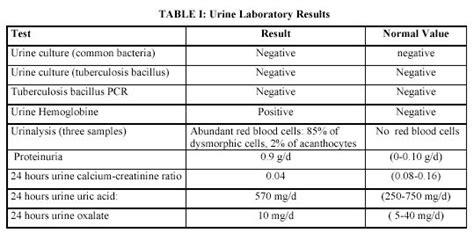 rev electron biomed electron j biomed 2005 3 29 34 musso et al gross hematuria solved