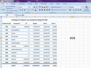 Budget Rechnung : hauptbuch ~ Themetempest.com Abrechnung
