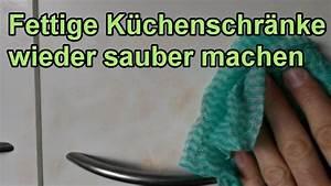 Küchenschränke Reinigen Hausmittel : fett von k chenschr nken entfernen diy fettl ser selber machen k che sauber putzen ~ A.2002-acura-tl-radio.info Haus und Dekorationen