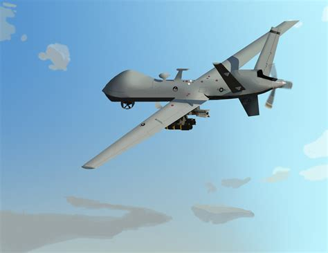 General Atomics MQ-9 Reaper by xXBumbleBee25Xx on DeviantArt
