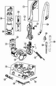 Dirt Devil Ud70100 Featherlite Cyclonic Vacuum Cleaner Parts
