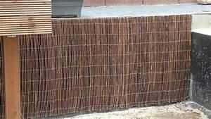 Wand Verkleiden Mit Holz : mit weidenmatten eine betonmauer verkleiden ~ Sanjose-hotels-ca.com Haus und Dekorationen