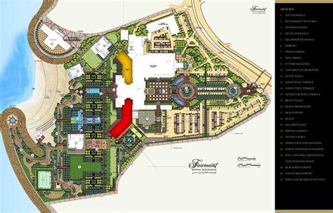 resort master plan fairmont marina residences abu dhabi