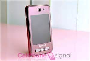 Pink Samsung Mobile Phone