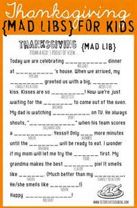 thanksgiving printables mad libs color by number and bingo
