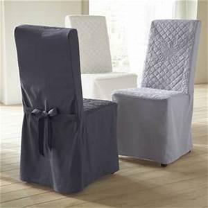 Housse De Chaise Grise : housse de chaise gris anthracite ~ Teatrodelosmanantiales.com Idées de Décoration