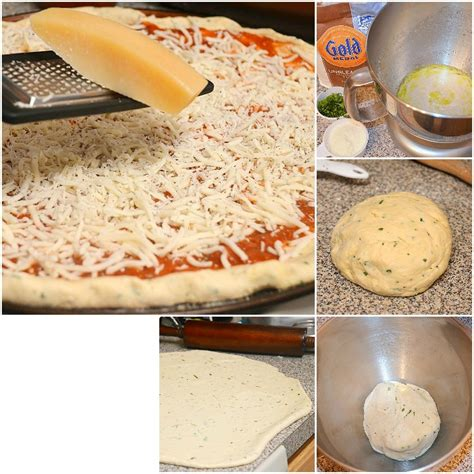 parmesan basil pizza dough will cook for smiles