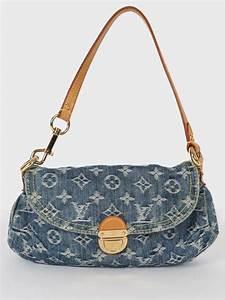 Louis Vuitton - Mini Pleaty Denim Bag Blue | Luxury Bags