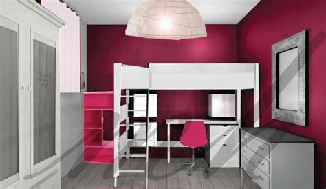 chambre couleur gris couleurs plus flashy dans la decoration de chambre de