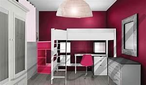 couleurs plus flashy dans la decoration de chambre de With idee deco pour maison 6 peinture idee deco pour chambre denfant