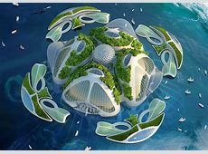 Vincent Callebaut's Futuristic oceanscapers are floating