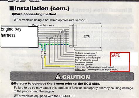 Safc 2 Wiring Diagram by Safc 2 Install Help Rx7club Mazda Rx7 Forum