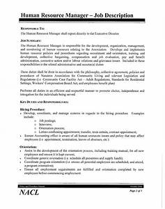 best photos of human resources assistant job description With human resources job description for resume