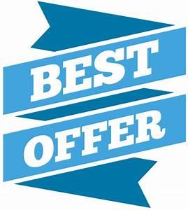Best Offer Blue label tag | 1designshop