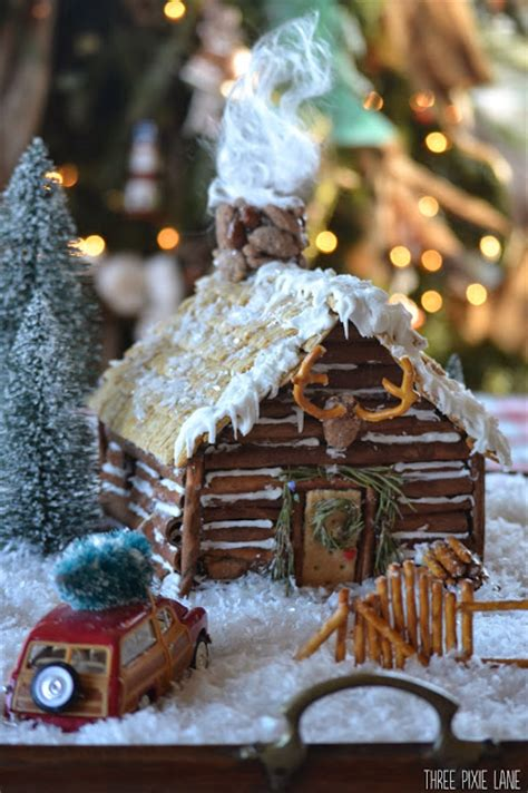 incredible gingerbread houses pretty  party