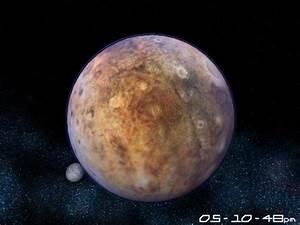 Planet Pluto 3D Screensaver Main Window - Astro Gemini ...