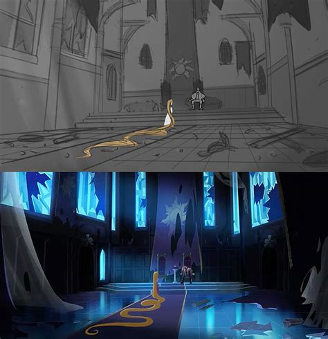 tangled  series storyboard  final result youloveitcom