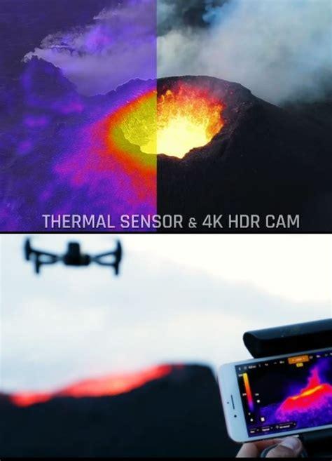 anafi thermal imaging drone  app